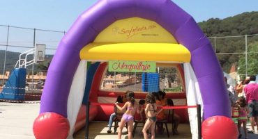 Carpa Inflable 3x8x4m