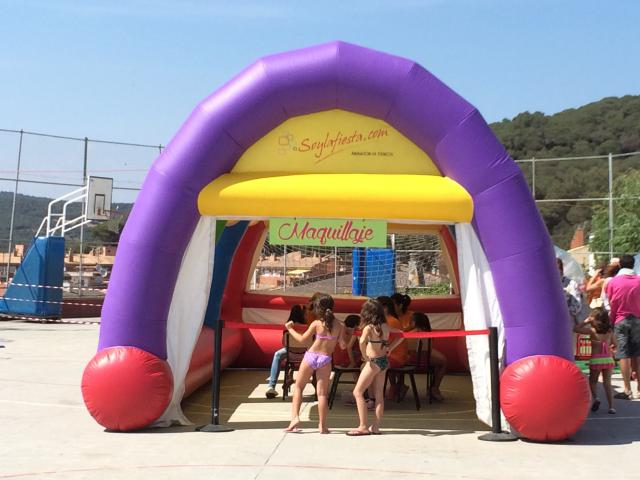 Carpa Hinchable 3x8x4m